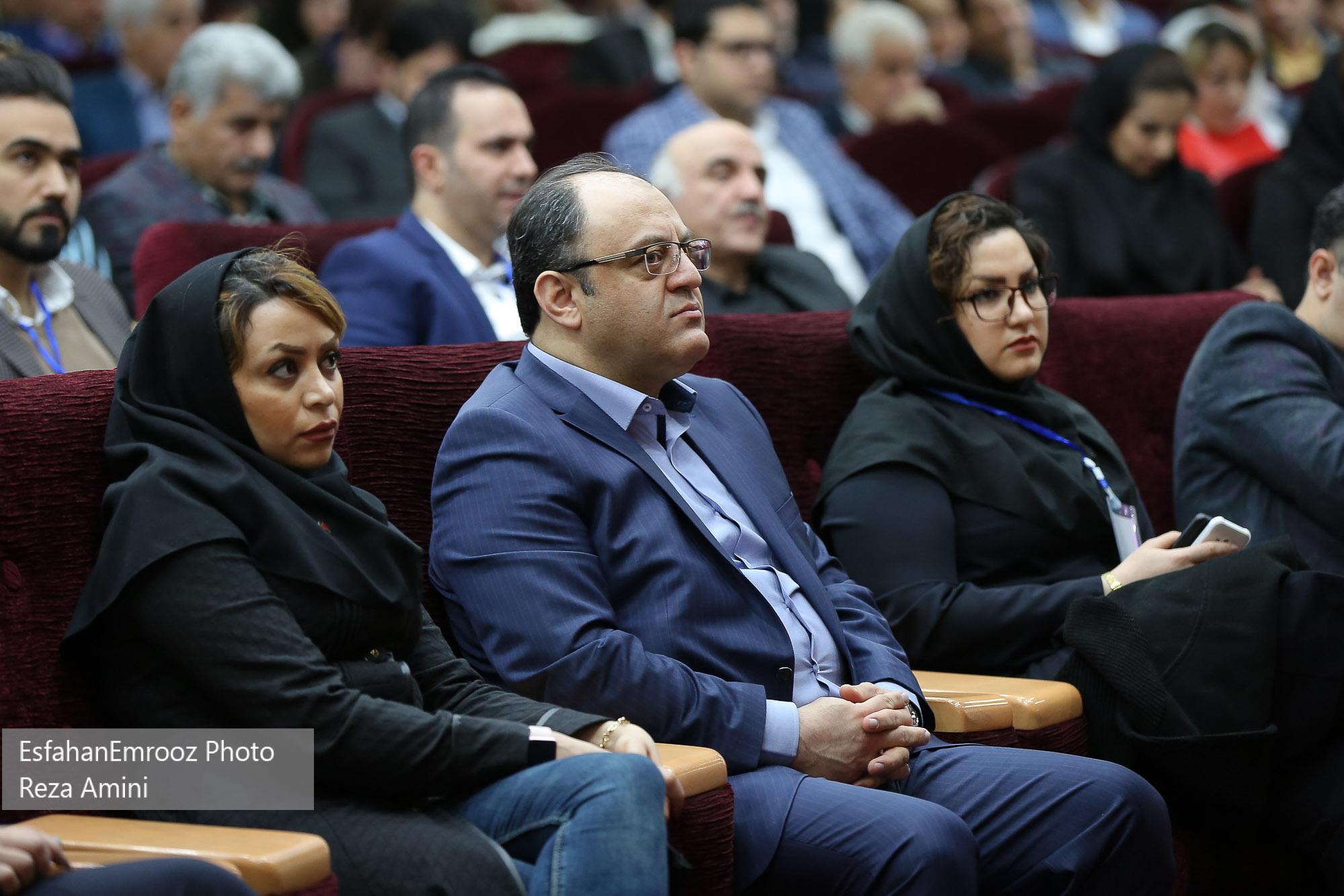 علی هاشم الحسینی - اولین گردهمایی مدیران الماسی