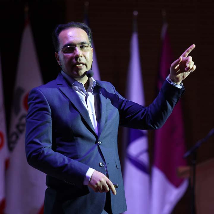 دکتر محمد طالاری – سومین گردهمایی مدیران الماسی