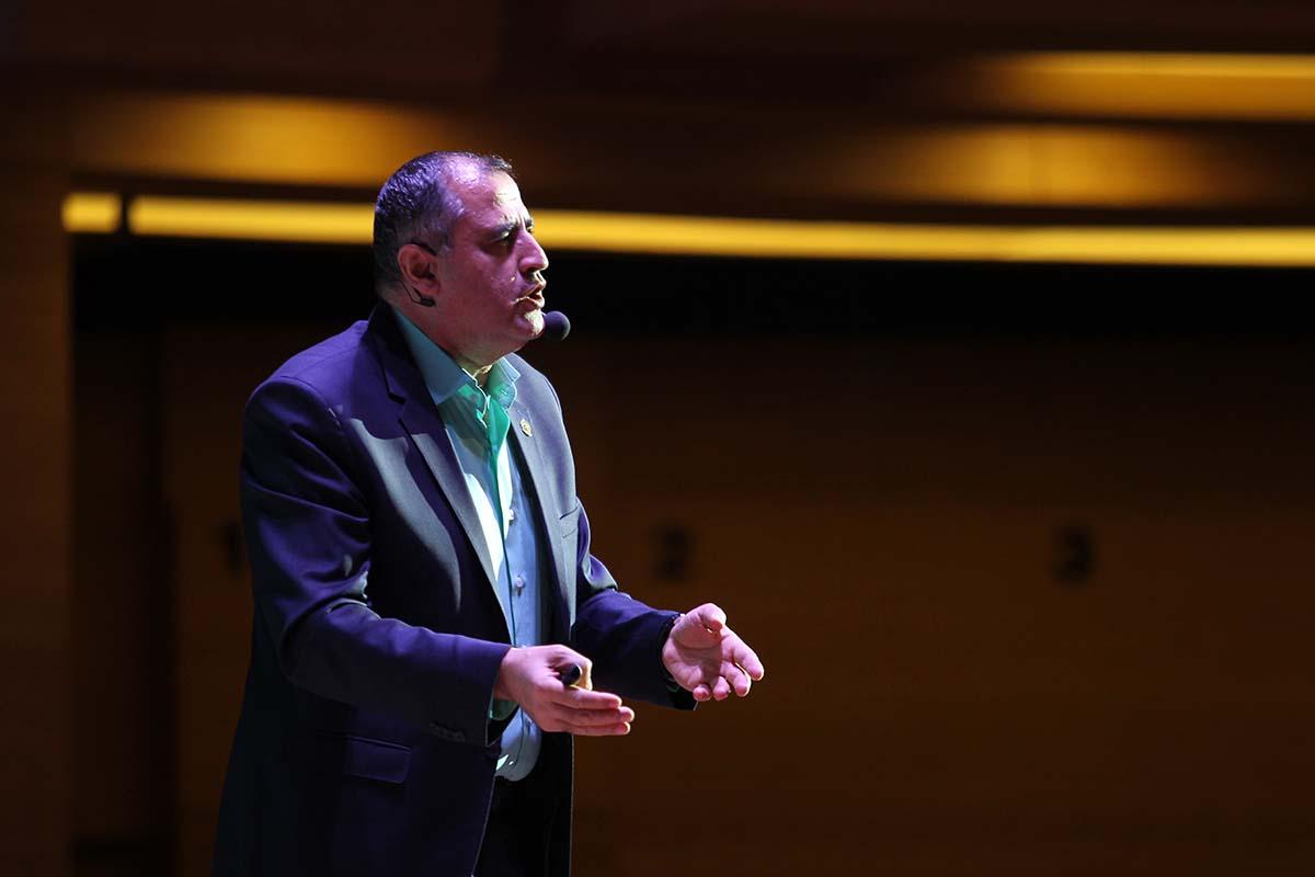 پرویز درگی - سومین گردهمایی مدیران الماسی