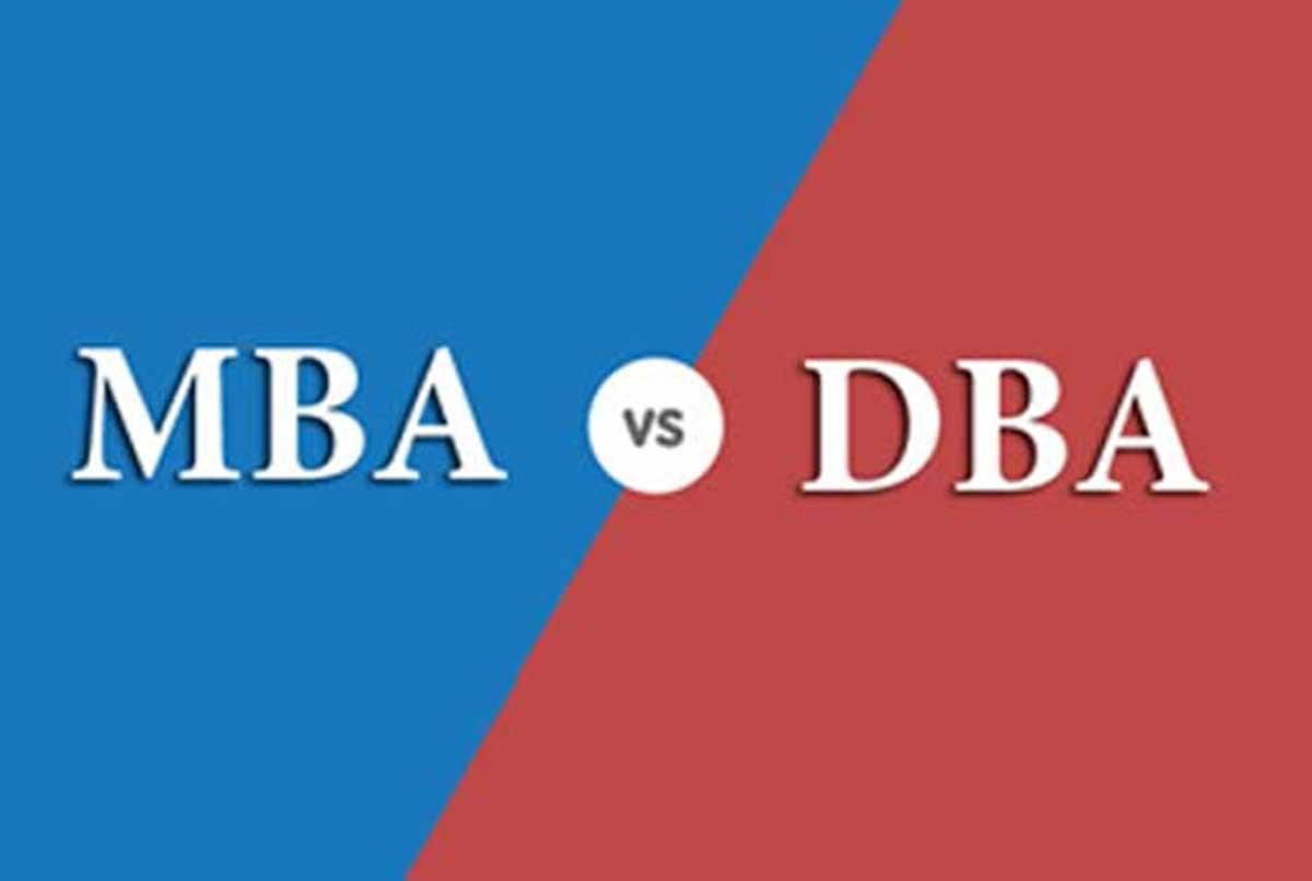تفاوت مدرک MBA و DBA چیست ؟